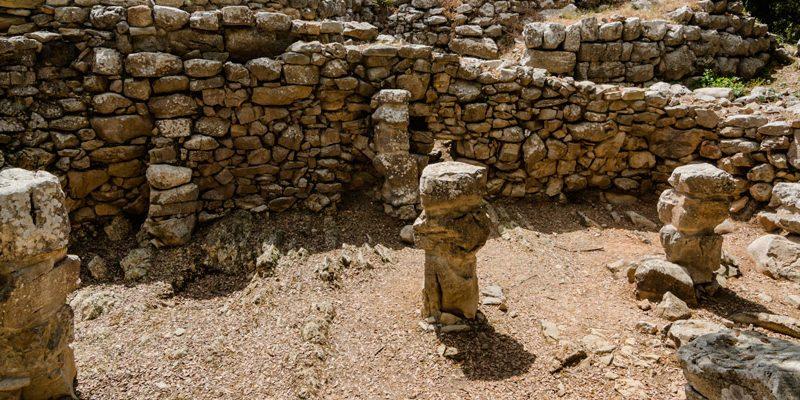 Besuche die archäologische Ausgrabungsstätte der berühmten Talaiot-Kultur