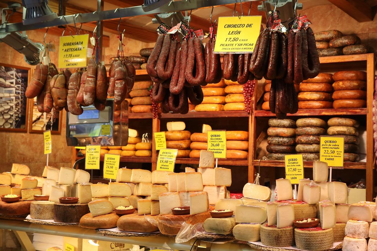 Wurst und Käse aus Mallorca