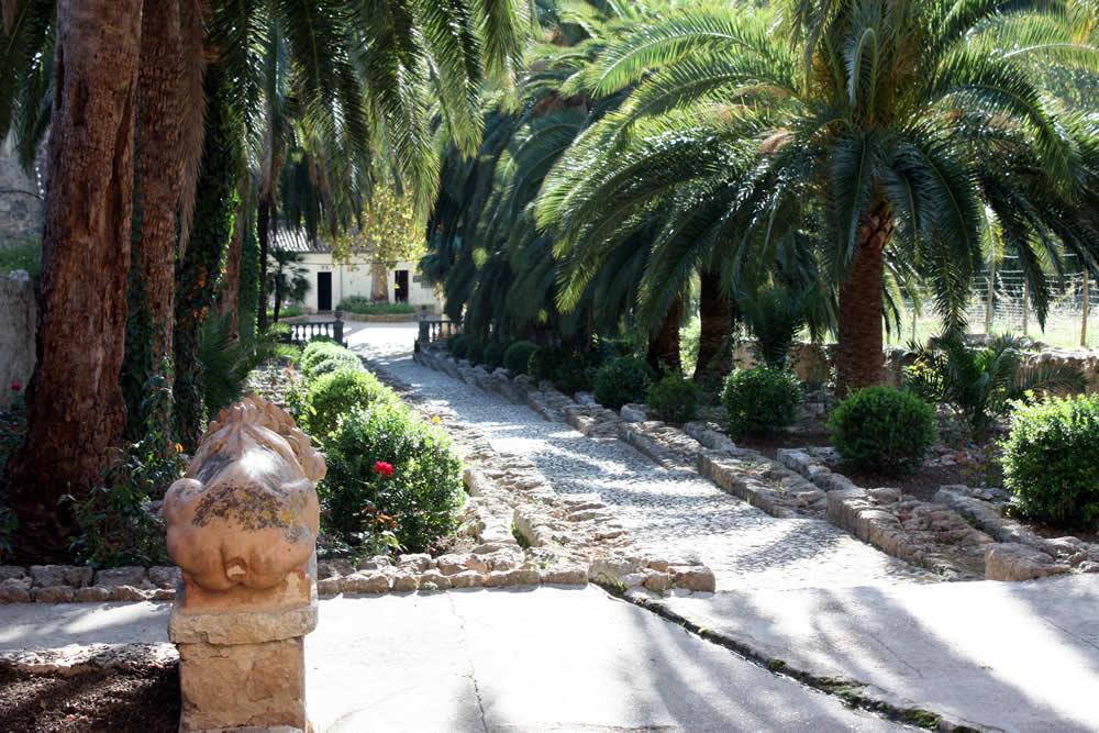 Jardines de Alfabia auf Mallorca