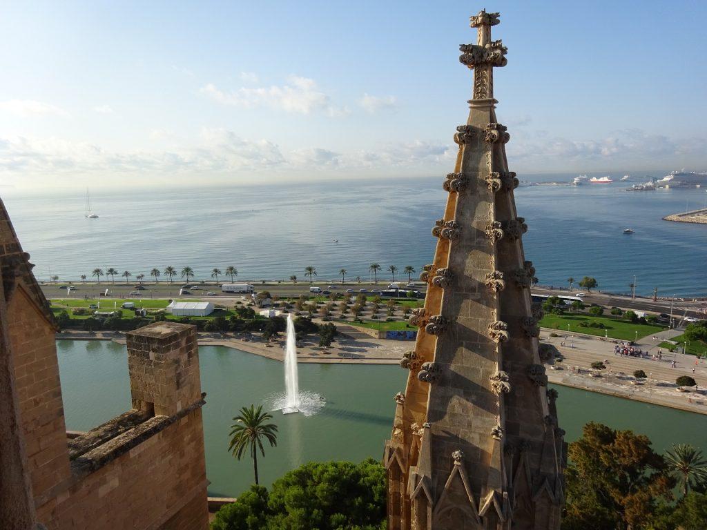 Besucherterrasse Kathedrale Palma de Mallorca