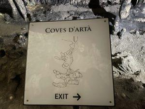 Ausgang Coves d'Artà
