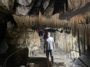 Ich nochmal in den Höhlen von Artá